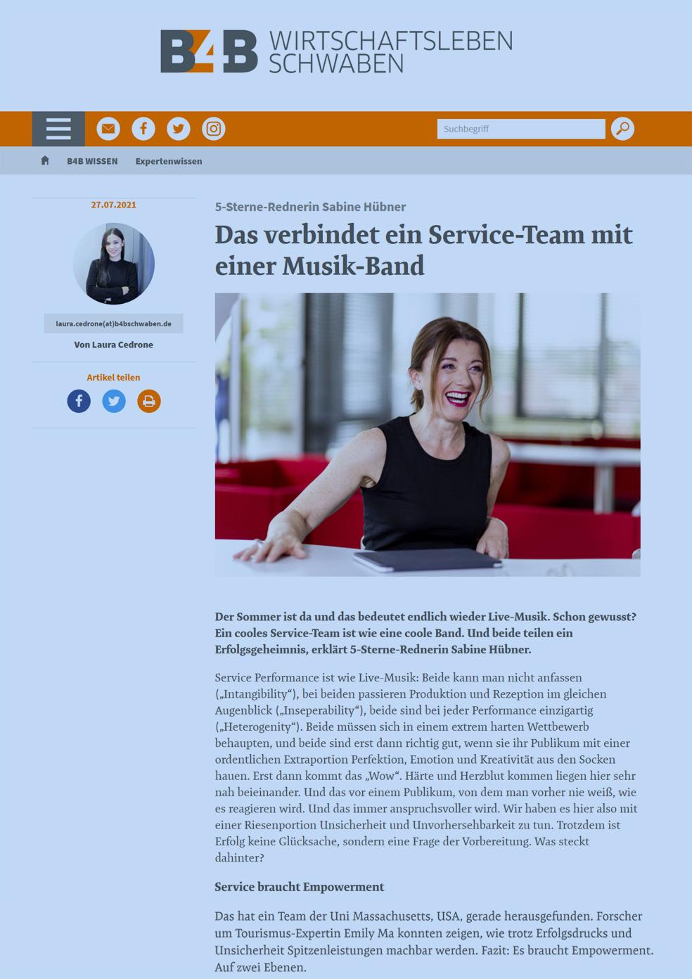 B4B Schwaben Service