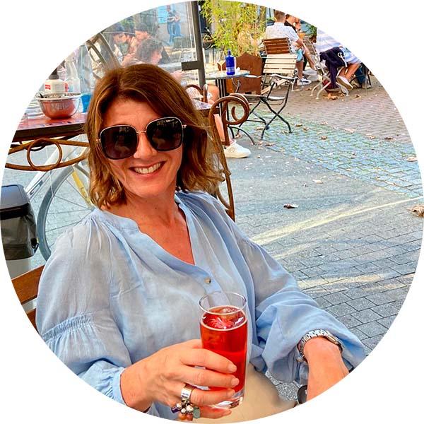 Lebensfreude in der Innenstadt - Sabine Hübner